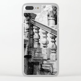 Sponza Palace Stairs Clear iPhone Case