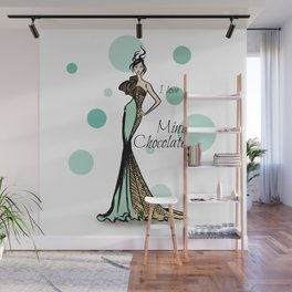 Mint Chocolate Flavour Wall Mural