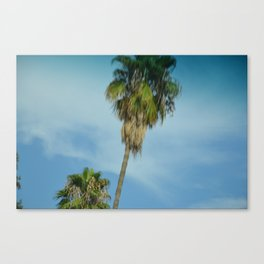 Blurred Trees Canvas Print