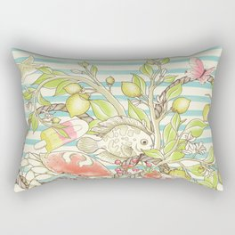 Sea, Sun and Fun - Pt. 1  Rectangular Pillow