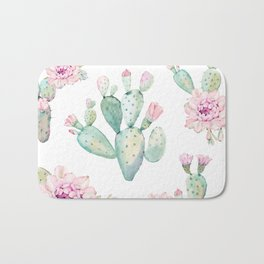 Simply Cactus Rose Bath Mat