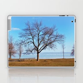 The Tree by the Frozen Lake Laptop & iPad Skin