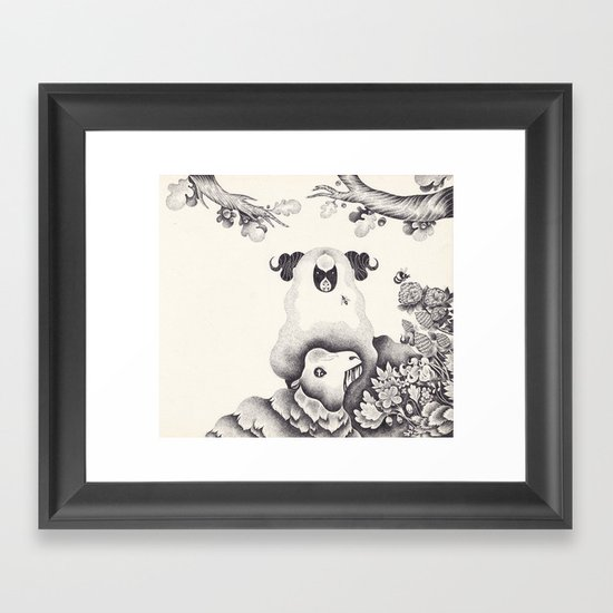 XXI Framed Art Print