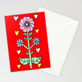 Folk needlework Stationery Cards