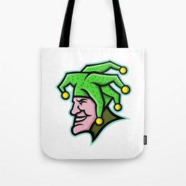 Harlequin Head Side Mascot Tote Bag
