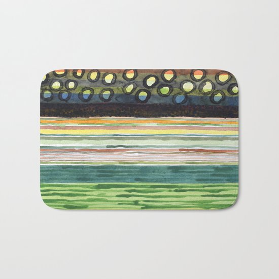 The Stack Draft Bath Mat