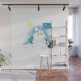 Snow Body Loves Me Wall Mural
