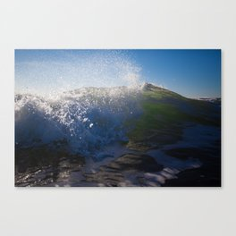 Breaking Tide Canvas Print