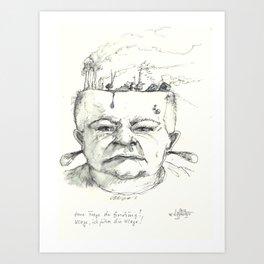 hommage to kalapalo Art Print