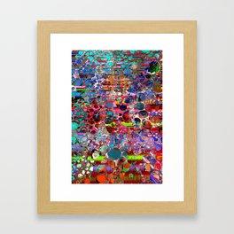 wooden highlands Framed Art Print