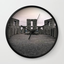 Maryhill Stonehenge Wall Clock