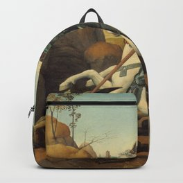 Saint George and the Dragon Backpack