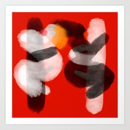Swingerclub Art Print
