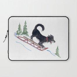 Dog Sledding 1 Laptop Sleeve