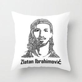 Zlatan  Throw Pillow