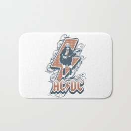 acdc angus young Bath Mat
