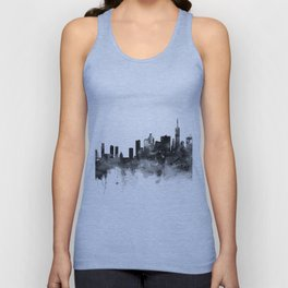 San Francisco Black and White Unisex Tank Top
