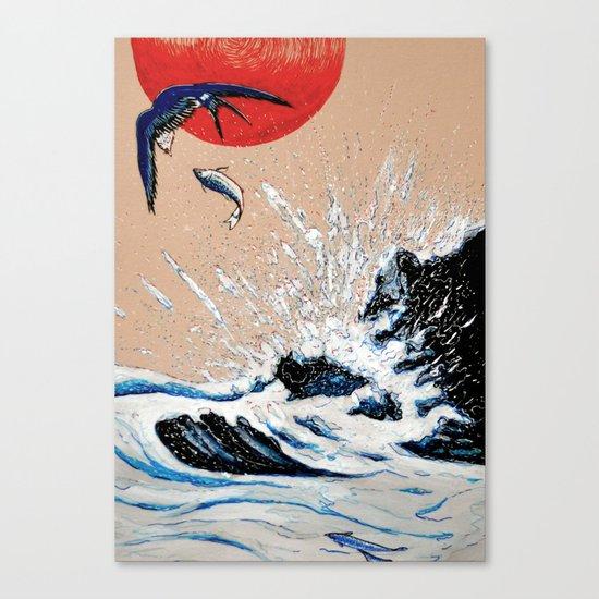 Japan Wave  Canvas Print