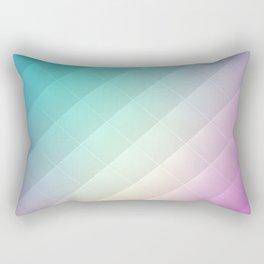 Abstract Rainbow Pattern Rectangular Pillow
