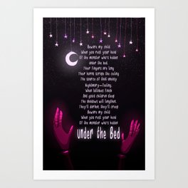 Prologue Poem Art Print