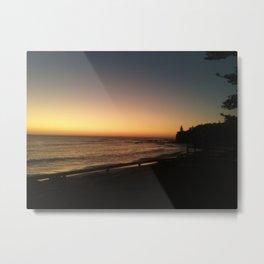 First light - Moffat Beach, Caloundra Australia Metal Print