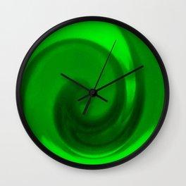 Green tie dye Wall Clock