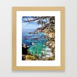 Big Sur Beauty Framed Art Print