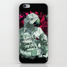 Natural born rocker... iPhone & iPod Skin