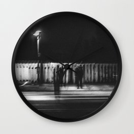 Only Shadows Wall Clock