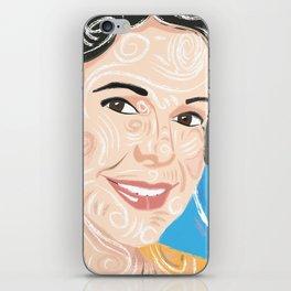 Aunt smiling / iPhone Skin