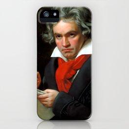 Ludwig van Beethoven (1770-1827) by Joseph Karl Stieler, 1820 iPhone Case