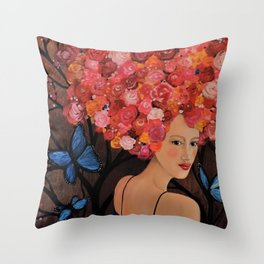 alma Throw Pillow