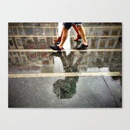 Dirty Rain Canvas Print