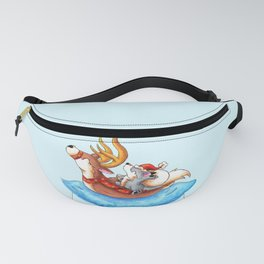 Pool Party Santa Fanny Pack