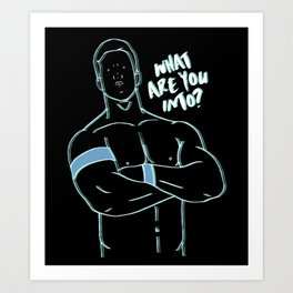 What Are You Into? II Alt Art Print