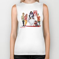 1d Biker Tanks featuring Big 1D 6! by justsomestuff