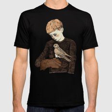 Kes  SMALL Mens Fitted Tee Black