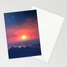Barcelona Smoke & Neons: Montserrat Stationery Cards
