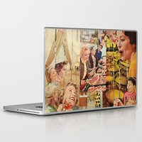 meat Laptop & iPad Skins featuring Meat Ladies by Katie Anderson Art