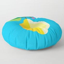 Fruit: Lemon Floor Pillow
