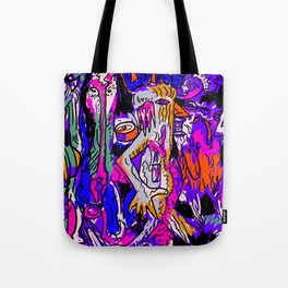 Evade Terror for You and Those Around You Tote Bag