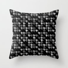 Toothless Black and White Throw Pillow