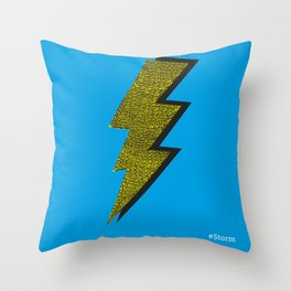 Storm - Psychedelic Throw Pillow