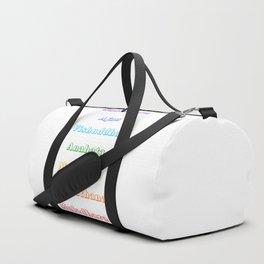Chakras Duffle Bag