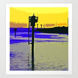 Harbor View Art Print