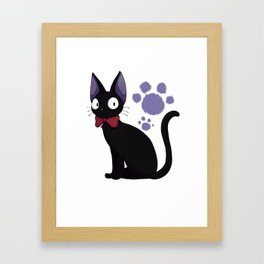 kiki delivery service Framed Art Print