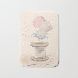Ballerina Mouse Bath Mat