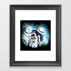 Grimmjow Framed Art Print