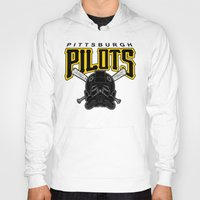 pittsburgh Hoodies featuring Pittsburgh Pilots by Ant Atomic