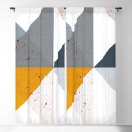 Modern Geometric 17/2 Blackout Curtain